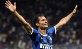 Winger Inter Milan Antonio Candreva.