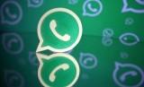 Perusahaan Whatsapp memberikan perlindungan privasi untuk penggunanya. Aplikasi Whatsapp (ilustrasi).