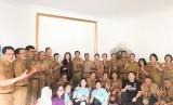 Audiensi Tim Cendekia Harapan dengan Disdikpora Kabupaten Badung terkait dengan Pelaksanaan AKM dan SK, Rabu (26/2)