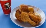 Ayam renyah KFC.