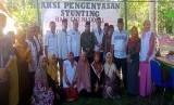 Badan Amil Zakat Nasional (Baznas)  melakukan aksi Pengentasan Stunting melalui pemanfaatan potensi kelapa di Desa Tandaigi, Kecamatan Siniu, Kabupaten Parigi Moutong, Sulawesi Tengah, Jumat (24/1).