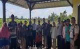 Badan SDM Kementerian Pertanian RI melakukan audiensi dengan petani milenial Belitung