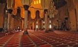 Bagian dalam Masjid Abu Abbas Al-mUrsi