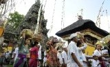 Penduduk Bali. Ilustrasi.