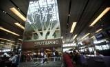 Bandara Changi Singapura. Bandara internasional mulai menerapkan screening untuk mencegah tersebarnya pneumonia. Ilustrasi.