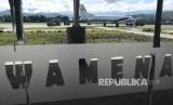 Bandara Wamena Terancam Banjir Kali Uwe. Foto ilustrasi Bandara Wamena.