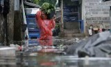 Banjir di kawasan Duren Tiga, Jakarta Selatan