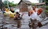 banjir ilustrasi