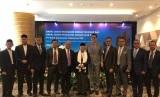 Bank Muamalat menggelar Rapat Umum Pemegang Saham Tahunan dan Rapat Umum Pemegang Saham Luar Biasa di Muamalat Tower, Jakarta, Jumat (17/5).