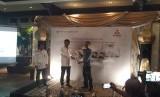 Bantuan truk PT KTB kepada act yang dilakukan secara sibolis, Kamis (16/5)