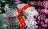 Bawang putih impor. ilustrasi (Republika/Prayogi)
