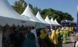 Bazar di lokasi Milad Aisyiyah.