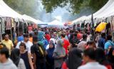 Dirjen Kes Malaysia: Penting Lakukan Pedoman di Tempat Ramai. Bazar Ramadhan di Malaysia. Foto ilustrasi.