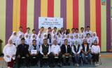 Baznas mengadakan simulasi board game Siap Tangga Bencana (SIAGA) di SMAN 8 Bandung.