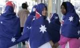 Beberapa Muslimah yang tinggal di Australia.