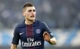 Gelandang Paris Saint-Germain Marco Verratti.