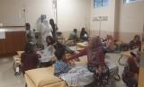 Belasan warga dirawat karena terkena penyakit demam berdarah (ilustrasi)