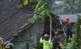 Bencana longsor di Kota Yogyakarta.