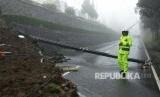 Bencana longsor terjadi di Puncak, Bogor, Foto Ilustrasi