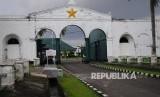 Benteng Kuto Besak Palembang Dipadati Ribuan Pengunjung