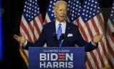 Demi menahan laju penyebaran virus corona, calon presiden Amerika Serikat (AS) Joe Biden meminta semua gubernur Negeri Paman Sam mewajibkan pemakaian masker. Ilustrasi.