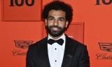 Bintang sepakbola asal Mesir, Mohamed Salah, menghadiri Time 100 Gala sebagai perayaan 100 Orang Paling Berpengaruh versi majalah Time di New York, Selasa (23/4).