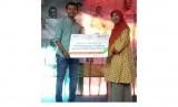 BNI Syariah memberikan bantuan operasional pembangunan fasilitas asrama putri Nara Kreatif.