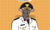 Bupati Bengkalis terjerat korupsi (ilustrasi)