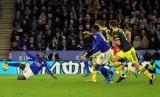 Burnley kalahkan Leicester City dengan skor 2-1, Ahad (19/1).