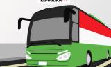 Bus Shalawat untuk jamaah haji Indonesia selama di Makkah (Ilustrasi).