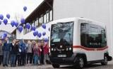 Bus Swakemudi EZ10 di Jerman.