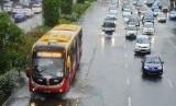 Bus TransJakarta merek Zhongthong (ilustrasi).