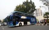 Bus wisata (ilustrasi)