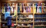 Butik busana muslimah/ilustrasi. Pengusaha fesyen halal membidik penjualan online.