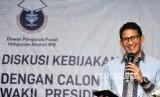 Calon Wakil Presiden no urut 02 Sandiaga Uno