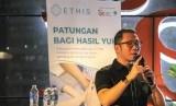 CEO Ethis Crowd Ronald Yusuf Wijaya. Pemberi dana Ethis Crowd dapat memeriksa perkembangan proyek lewat akun milik