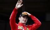 Pembalap Ferrari Charles Leclerc