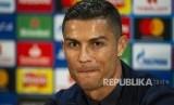 Cristiano Ronaldo Turut Rayakan Kemenangan Real Madrid