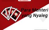 Menteri-Menteri Jokowi yang Jadi Caleg