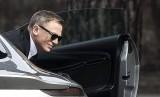 Daniel Craig saat menjalani syuting film terbaru James Bond, 'Spectre' di Roma, Italia