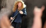 David Mustaine dari Megadeth.
