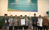 Deklarasi ekosistem halal di auditorium Universitas Islam Sultan Agung (Unissula).