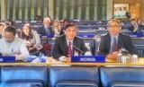 Delegasi Indonesia dari Badan Ketahanan Pangan Dunia, Kementan Mulyadi Hendiawan (tengah), dan Kepala Badan Litbang Pertanian, Kementan Muhammad Pram Yufdy (kanan) menghadiri Sidang Comittee on World Food Security (CFS) di Italia pada  15-19 Oktober 2018.