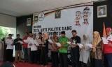 Desa Hargomulyo, Kecamatan Kokap, Kabupaten Kulonprogo, DIY, mendeklarasikan diri menjadi Desa Anti Politik Uang.