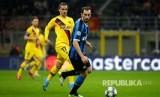 Bek tengah Inter Milan Diego Godin.
