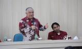 Din Syamsudin dalam rangkaian milad akbar Ikatan Mahasiswa Muhammadiyah (IMM) ke-54 di Universitas Muhammadiyah Yogyakarta (UMY), Rabu (14/3).