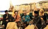 Direktur Informasi dan Komunikasi Pembangunan Manusia dan Kebudayaan, Wiryanta saat acara Pertunra di Ngawi, Jawa Timur, Sabtu (20/1).