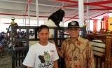 Direktur Jenderal Peternakan dan Kesehatan Hewan I Ketut Diarmita saat menghadiri Silaturahmi Nasional Himpunan Peternak  Domba Kambing Indonesia (Silatnas HPDKI) ke 6 di Kota Wisata Batu, Malang, Jawa Timur (9/10).