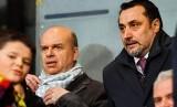 Mantan Direktur Olahraga AC Milan Massimiliano Mirabelli (kanan).