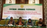 Dirjen Peternakan dan Keswan I Ketut Diarmita dalam pertemuan koordinasi perunggasan